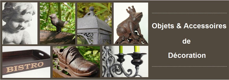 Objets deco pour maison et jardin