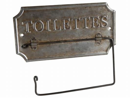 Support papier wc - Toilettes