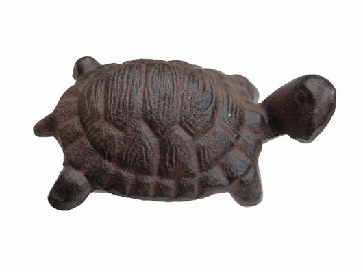 Petite tortue décorative fonte