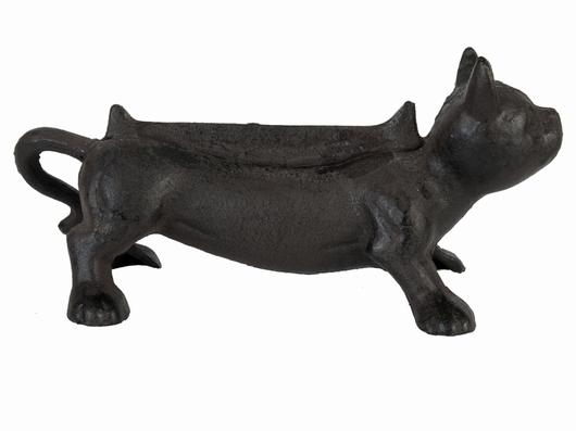 Gratte pieds chaton en fonte