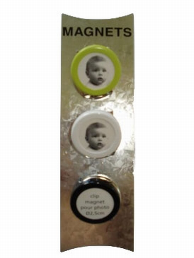 Clip magnet pour photo