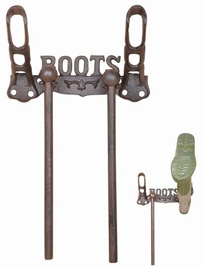 Porte-bottes mural fonte - Boots