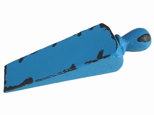 Cale porte fonte couleur bleu