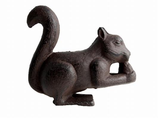 Ecureuil déco jardin fonte GM