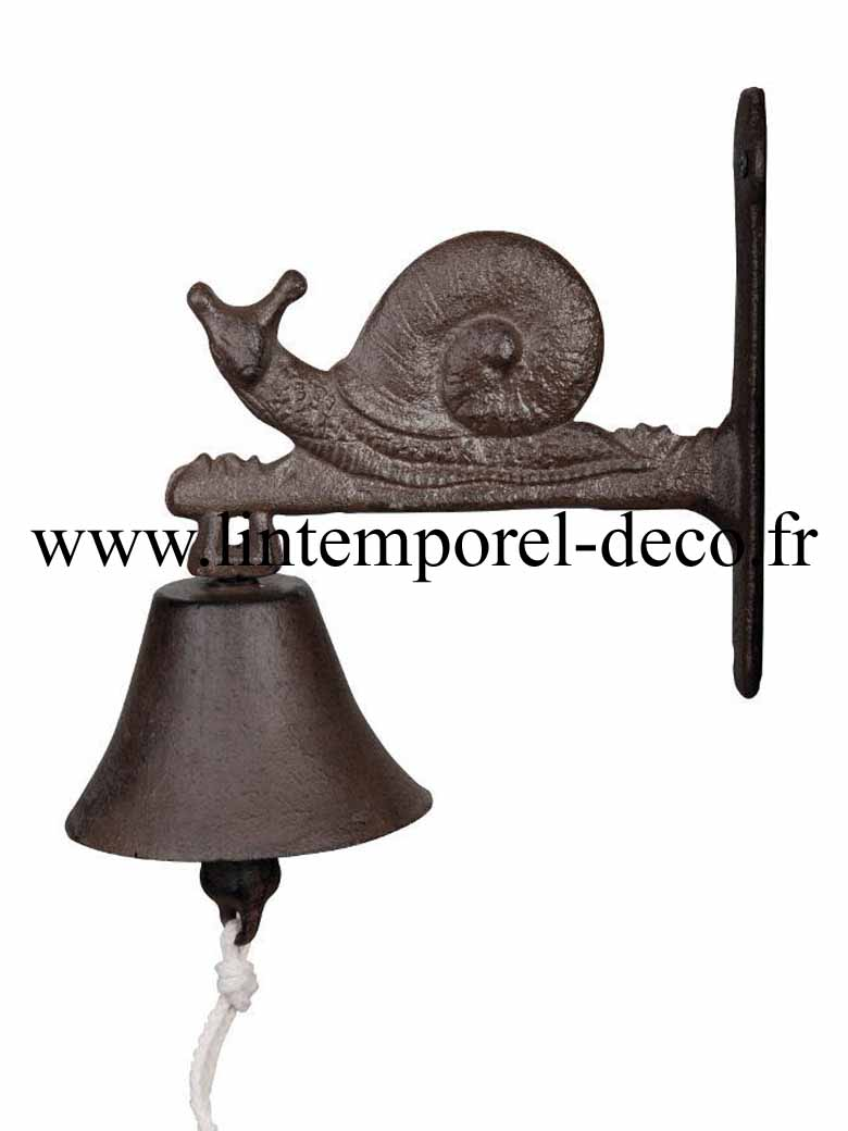 cloche de porte escargot acheter pas cher. Black Bedroom Furniture Sets. Home Design Ideas
