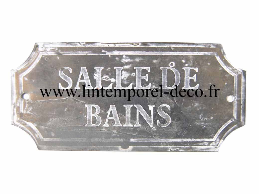 D co de porte salle de bain en fer lintemporel for Decoration porte salle de bain