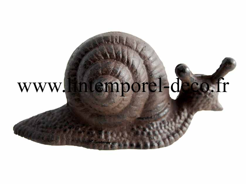 Acheter escargot d co jardin fonte gm pas cher for Escargot decoration jardin