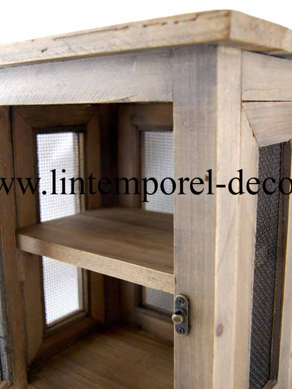 acheter garde manger gm en bois pas cher lintemporel. Black Bedroom Furniture Sets. Home Design Ideas