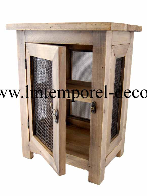 garde manger pm en bois acheter pas cher lintemporel. Black Bedroom Furniture Sets. Home Design Ideas