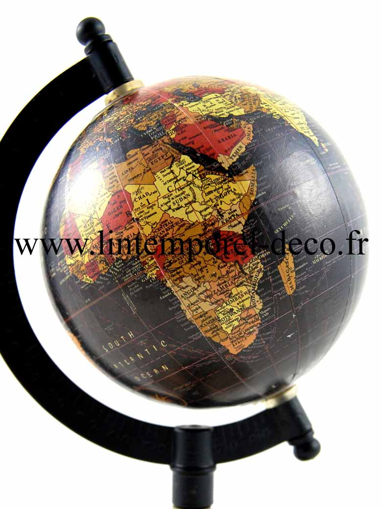 globe terrestre de bureau lintemporel. Black Bedroom Furniture Sets. Home Design Ideas