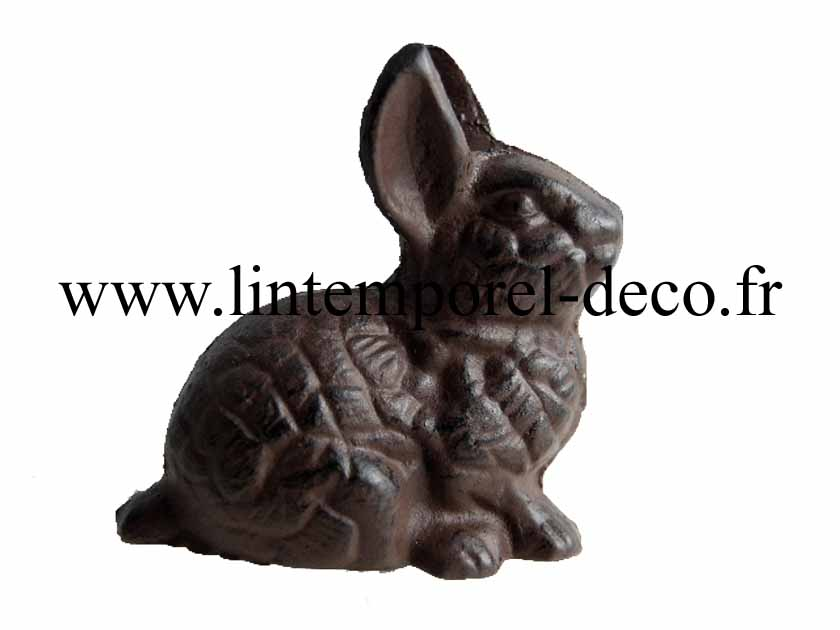 Lapin d co jardin fonte gm lintemporel for Decoration jardin lapin