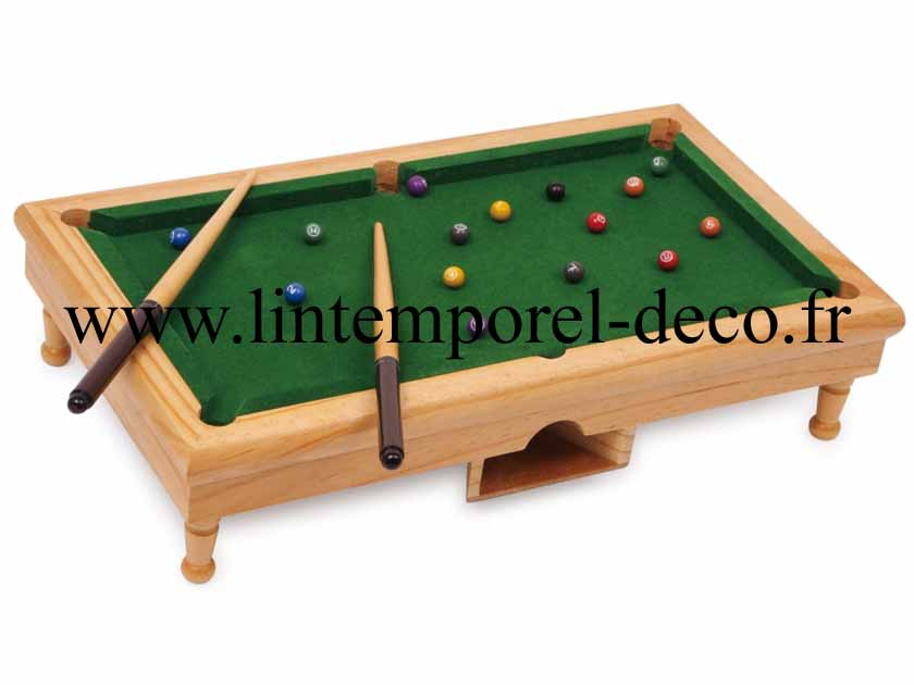 acheter mini billard de table bois pas cher lintemporel. Black Bedroom Furniture Sets. Home Design Ideas
