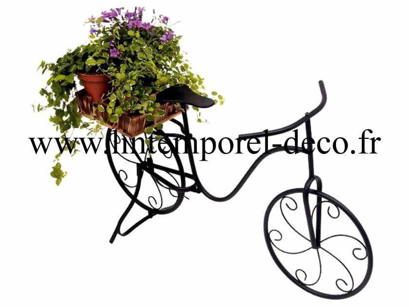 V lo d coration pour plantes lintemporel - Decoration jardin velo ...
