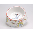 Gamelle chat en porcelaine