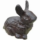 Figurine lapin en fonte PM