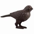 Oiseau Moineau fonte de jardin
