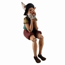Figurine Pinocchio assis PM