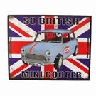 Plaque voiture Mini Cooper
