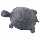Tortue decorative de jardin fonte grise