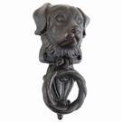 Heurtoir decoration de porte motif dog