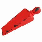cale porte fonte couleur rouge