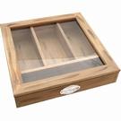Boîte range-couverts bois - vitrine