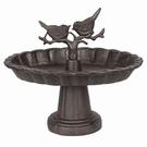 Mangeoire coupe en fonte pour oiseaux