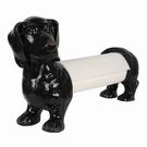 Porte essuie-tout chien Teckel polyrésine