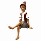 Pinocchio multicolore de décoration