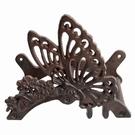 Support tuyau d'arrosage - Papillon & Fleurs