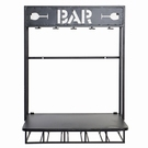 Etagère murale mini bar rabattable