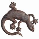 Décoration murale en fonte - Reptile
