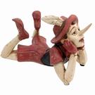 Pinocchio avec habit rouge - Rêveur
