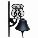 Cloche de porte murale fonte - US Route 66