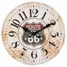 Horloge murale ronde - Route US 66