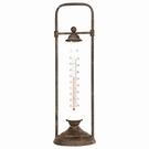 Thermomètre de jardin à poser en fer - H43 cm