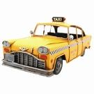 Taxi jaune New-yorkais vintage en métal