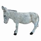 Tirelire décorative en fonte - Ane gris