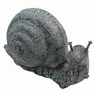 Escargot géant en fonte décoratif - 6 Kg