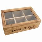 Boîte vitrine pour café ou thé - Dosettes