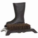 Brosse pied décoratif fonte à poser - Botte