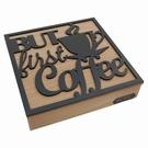 Coffret bois range-capsules de café - Home