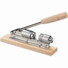 Casse noix manuel à piston ajustable de table