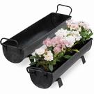 Jardinière bac à fleurs avec poignées - Set de 2