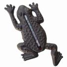 Thermomètre mural grenouille fonte