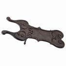 Tire botte brun antique en fonte à poser